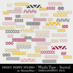 Surreal Washi Tape-$1.99 (Sweet Poppy Studio)
