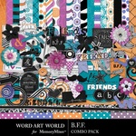 BFF Combo Pack-$4.99 (Word Art World)