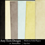 Midterm Solid Paper Pack-$2.99 (Amy Teets)