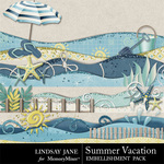 Summer Vacation Borders-$1.99 (Lindsay Jane)