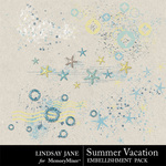 Summer Vacation Scatterz-$1.99 (Lindsay Jane)