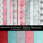 Million Memories Paper Pack-$3.49 (Laura Burger)