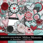Million Memories Combo Pack-$3.49 (Laura Burger)