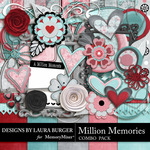 Million Memories Combo Pack-$3.49 (Laura Burger)