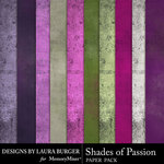 Shades of Passion Solids Paper Pack-$3.49 (Laura Burger)