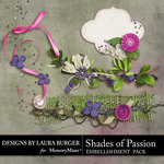 Shades of Passion Clusters-$2.49 (Laura Burger)