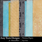 Notions Paper Pack-$3.49 (Amy Teets)