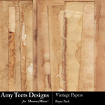 Vintage Paper Pack-$3.49 (Amy Teets)