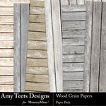 Wood Grain AT Paper Pack-$3.49 (Amy Teets)