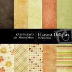 Harvest Delights Paper Pack-$4.00 (Karen Lewis)