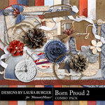 Born Proud Combo Pack 2-$4.99 (Laura Burger)