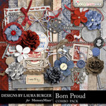 Born Proud Combo Pack-$4.99 (Laura Burger)