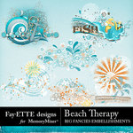 Beach Therapy Big Fancies Pack-$2.99 (Fayette Designs)