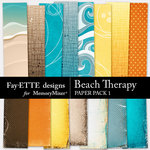 Beach Therapy Paper Pack 1-$2.99 (Fayette Designs)