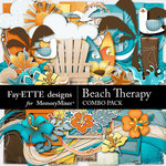 Beach Therapy Combo Pack-$7.99 (Fayette Designs)