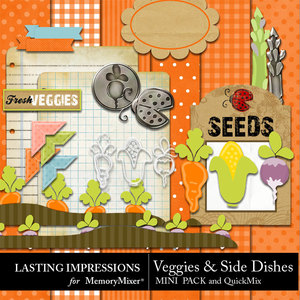 Veggies and side dishes preview medium