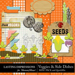 Veggies and Side Dishes Combo Pack-$2.49 (Lasting Impressions)