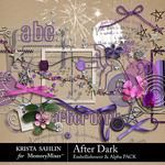 After Dark Embellishment Pack-$3.99 (Krista Sahlin)