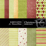 Christmas Crackers Paper Pack-$3.49 (Karen Lewis)