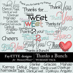 Thanks a Bunch WordArt-$2.99 (Fayette Designs)