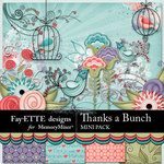 Thanks a Bunch Mini Pack-$3.49 (Fayette Designs)