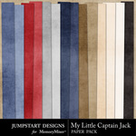 My Little Captain Jack Paper Pack-$3.49 (Jumpstart Designs)