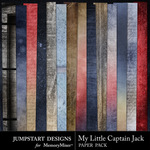 My Little Captain Jack Blend Paper Pack-$2.99 (Jumpstart Designs)