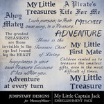 My Little Captain Jack WordArt-$3.99 (Jumpstart Designs)