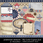 My Little Captain Jack Journals-$2.49 (Jumpstart Designs)
