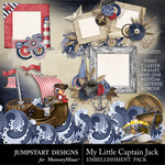 My Little Captain Jack Clusters-$2.49 (Jumpstart Designs)