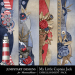 My Little Captain Jack Borders-$2.45 (Jumpstart Designs)