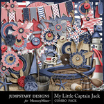 My Little Captain Jack Add On Embellishment Pack-$3.49 (Jumpstart Designs)