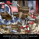 My Little Captain Jack Combo Pack-$7.99 (Jumpstart Designs)