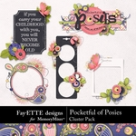 Pocketful of Posies Clusters Pack-$1.99 (Fayette Designs)