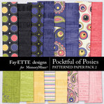 Pocketful of Posies Patterned Paper Pack 2-$2.99 (Fayette Designs)