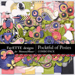 Pocketful of Posies Combo Pack-$7.49 (Fayette Designs)