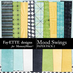 Mood Swings Paper Pack 2-$2.99 (Fayette Designs)