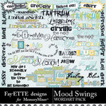 Mood Swings WordArt Pack-$2.49 (Fayette Designs)
