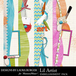 Lil Artist Borders-$2.49 (Laura Burger)