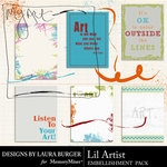 Lil Artist Journals-$2.49 (Laura Burger)