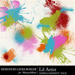 Lil Artist Paint Splatters-$1.00 (Laura Burger)