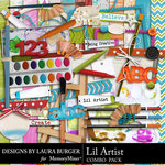 Lil Artist Combo Pack-$2.00 (Laura Burger)