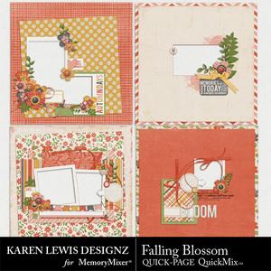 Falling blossom quick page medium