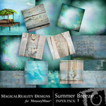 Summer Breeze MR Paper Pack-$3.99 (MagicalReality Designs)