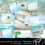 Summer Breeze MR Paper Pack 2-$3.99 (MagicalReality Designs)