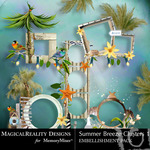 Summer Breeze MR Clusters-$1.00 (MagicalReality Designs)
