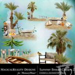 Summer Breeze MR Clusters 2-$1.99 (MagicalReality Designs)