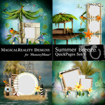 Summer Breeze MR Quick Pages 1-$3.49 (MagicalReality Designs)