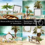 Summer Breeze MR Quick Pages 2-$3.49 (MagicalReality Designs)
