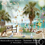 Summer Breeze MR Embellishment Pack-$3.49 (MagicalReality Designs)